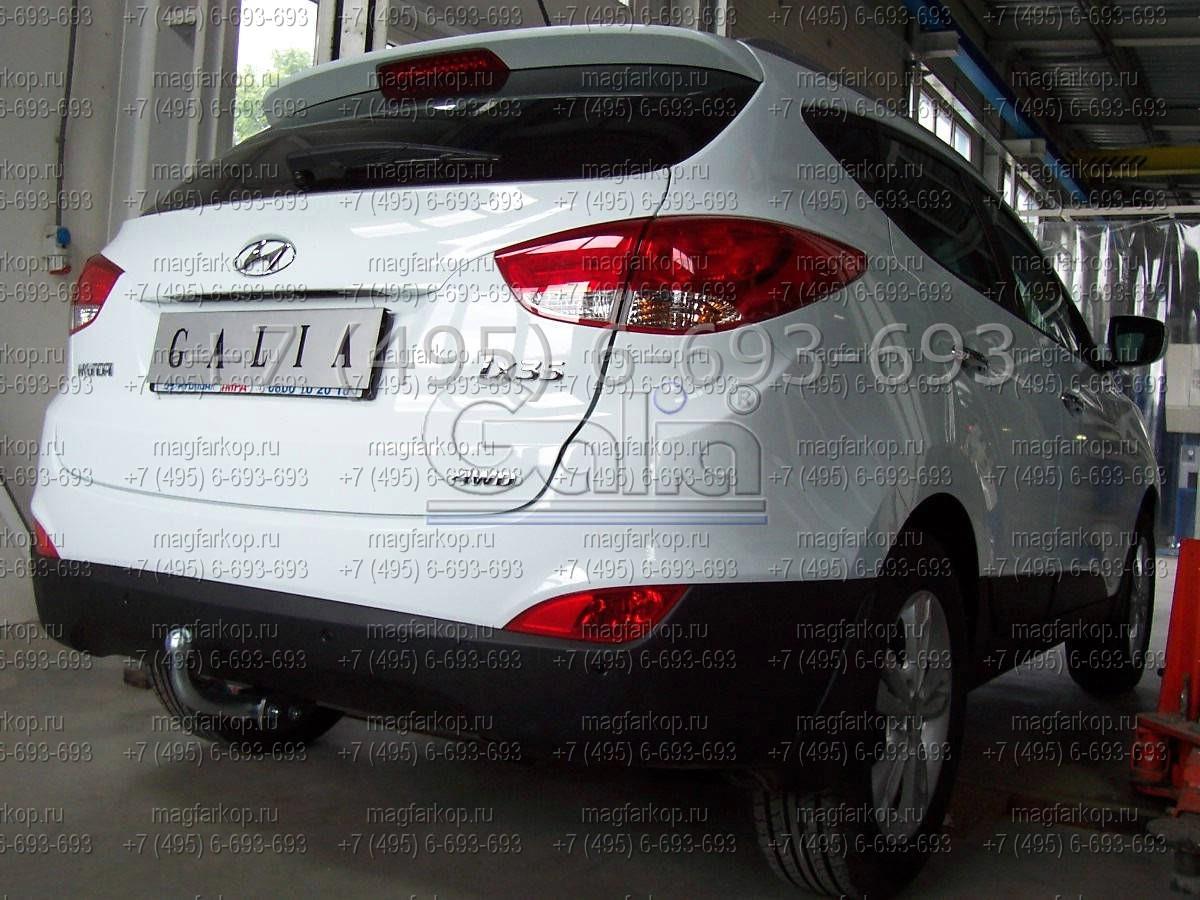 ТСУ на Hyundai ix 35 — инструкция по установке изоражения