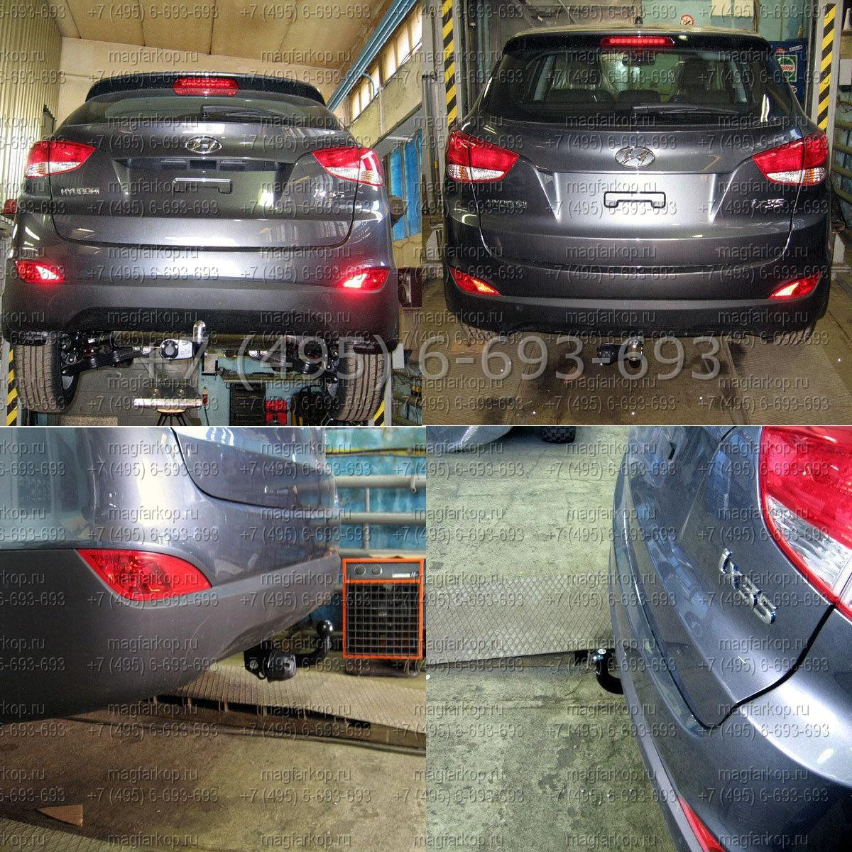 Смотреть ТСУ на Hyundai ix 35 — инструкция по установке видео