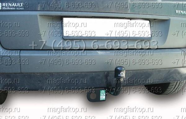 Фаркоп R105-A на Renault Scenic.