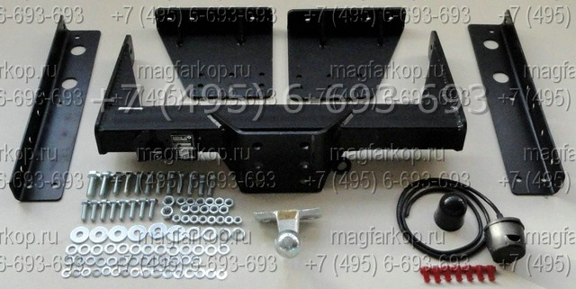 Фаркоп Iveco Daily Uniwers.  1999- Тип шара: F. Нагрузки: 3500/75 кг (электрика в комплекте) .