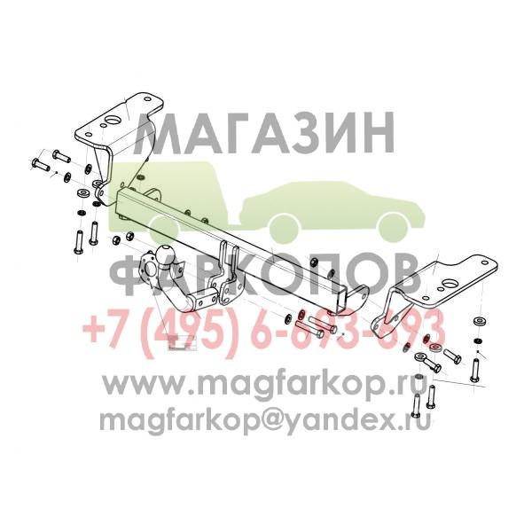 Фаркоп 3087-A на Toyota